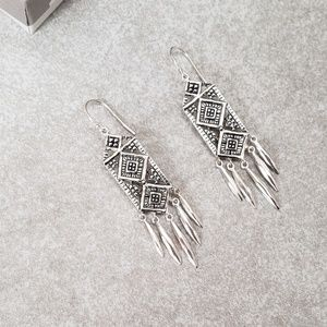 Silpada Baroque Chandelier Sterling Silver Earring